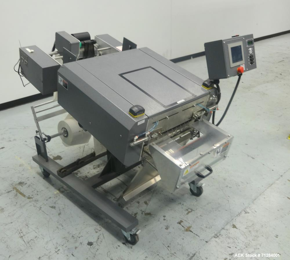 "Used- Clamco Model ""Magnum Force"" Impulse Bagger with printer"