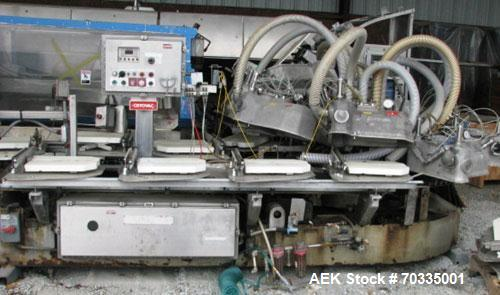 Used-Used: Cryovac Model 8600-14. Vacuum Chamber Machine. Last ran 9 pound turkey breasts. Seal bar is 14 inches.