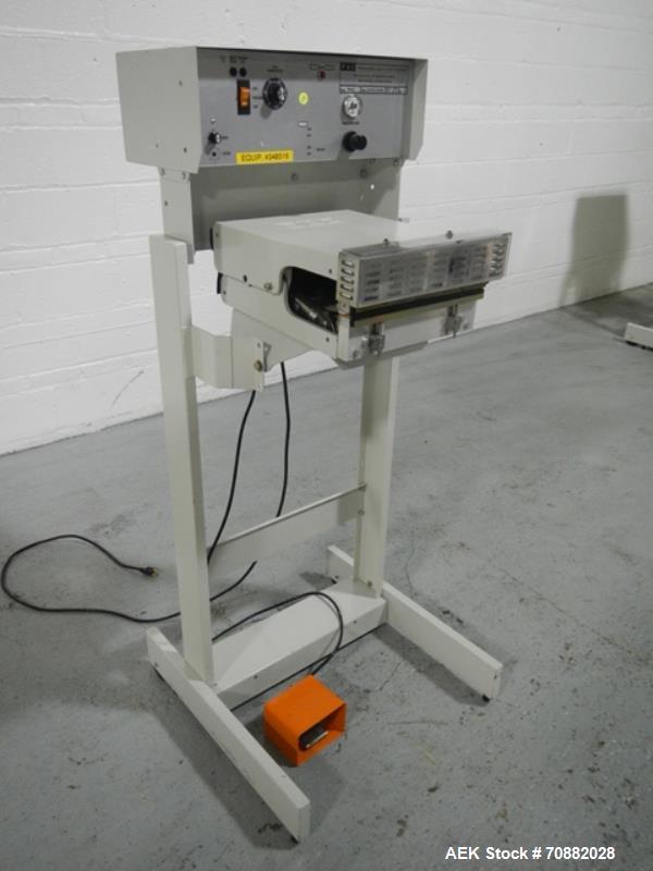 Used- Packaging Aid Corp PB-G12 Bar Heat Sealer