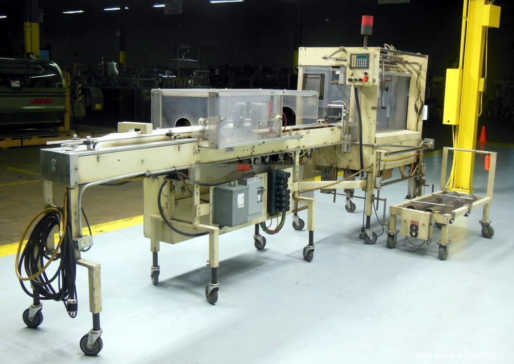 Used- Rennco Model 501-36 Automatic Vertical Bagger