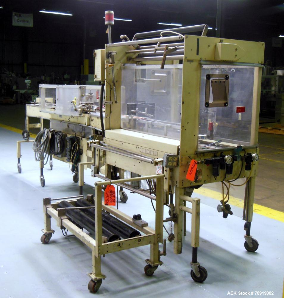 Used- Rennco Automatic Vertical Bagger, Model 501-36