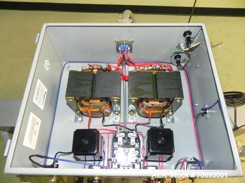"Used- Vertrod Thermal Impulse Heat Sealer, Model 14P/PTV. Approximately 14"" long heat sealing area, foot pedal controls.  13..."