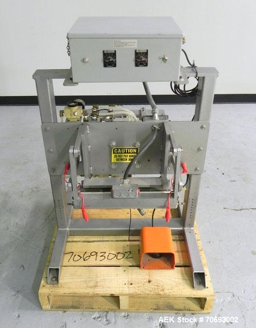"Used- Vertrod Model 14P/PTV Thermal Impulse Heat Sealer.  Approximately 14"" long heat sealing area, foot pedal controls. 125..."