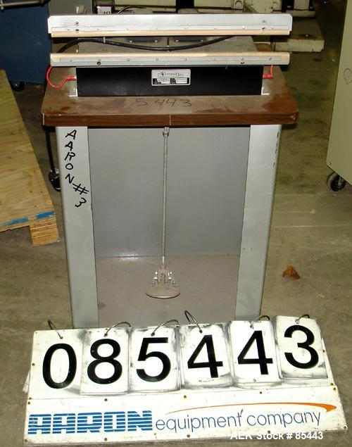 """Used- Vertrod Thermal Horizontal Impulse Heat Sealing Machine, Model 20A/CAB. Approximate 21"""" long x 1/2"""" wide seal area.Man..."""