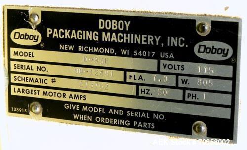 Used- Doboy Model D-95E Sewing Head Bag Stitcher