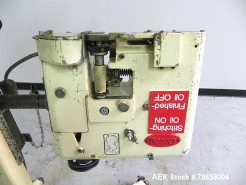 Used- Doboy Model D-95E Dual Sewing Head Bag Stitcher
