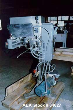 "Used- Container Corp of America Snorcca jaw type heat sealer.Container vacuum packaging system, 32"" wide air operated sealin..."