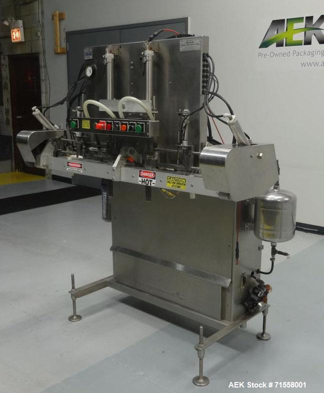 Used CVP Systems Model A-200 Modified Atmosphere Overhead Vacuum Bag Sealer