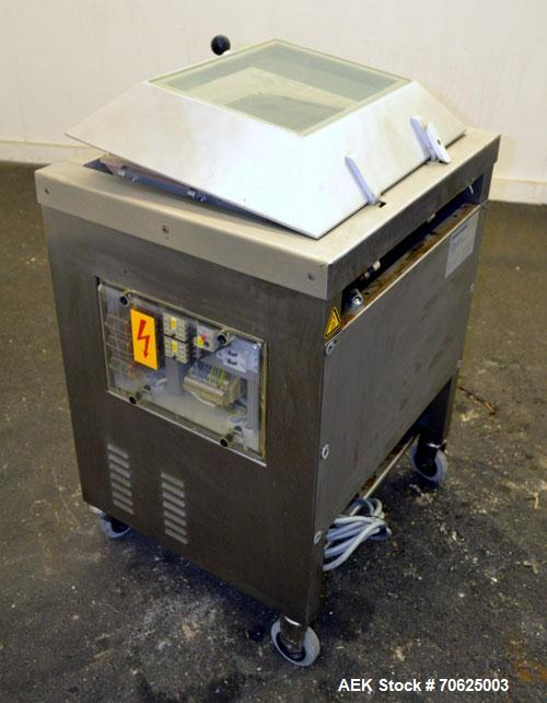 Used- Multivac Model A300/52 Pouch Sealer for Vacuum / MAP (Modified Atmospheric