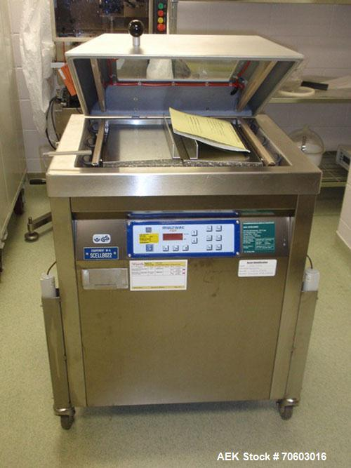 Used- Multivac Model A300/52 Pouch Sealer