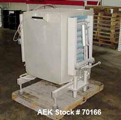 "Used- Multivac Vacuum Pouch Packaging Machine, Model AGV. 14"" wide x 28"" long, includes adjustable height infeed and dischar..."