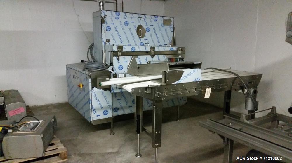 Unused- Multivac Vacuum Operated Robot Handling Sealer, Model H050. Enclosure: Type 1, enclosure IP rating: IP 65, max. volt...