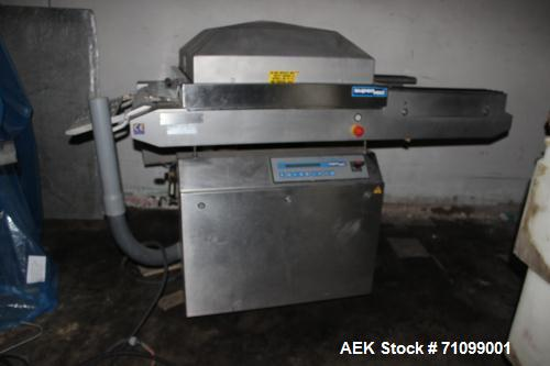 Used- Reiser Model GK 169b Supervac Horizontal Form Fill and Seal Thermoformer. Chamber size 890mm x 790mm.  Biactive high p...