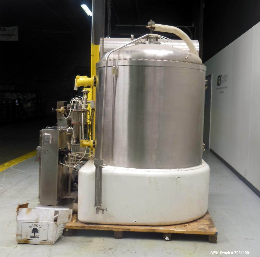 Used- Satinless Steel Mojonnier 48-60 Carbo Cooler for Carbonated Drink Products
