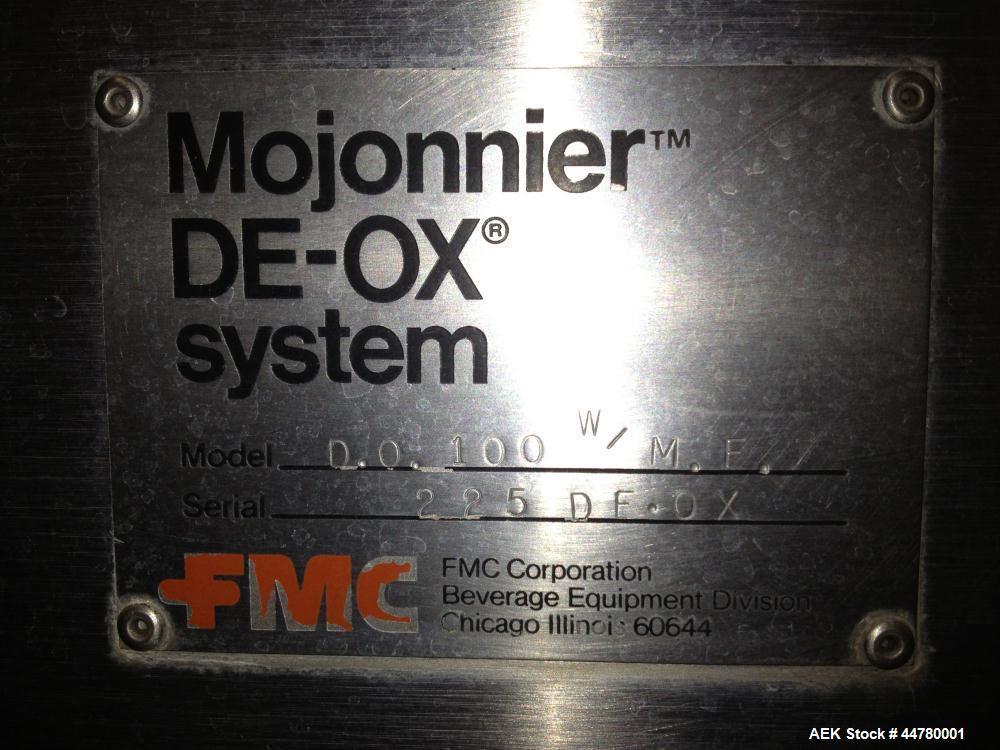 Used- Mojonnier DE-OX Twin Column Deaerator System