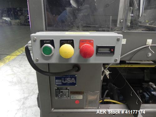 "Used- Alloyd Model 16SC1216 Blister Sealer. Capable of speeds from 6 to 20 cycles per minute. Has 16 stations with 12"" (wide..."