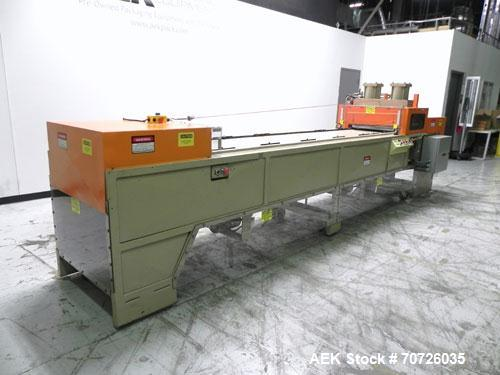 Used- ZED Industries Model 15-111 Inline Blister Sealer Card Machine