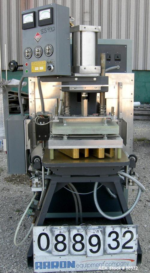 """USED: Callanan RF sealing machine, 10 kw, model 100SP. 18"""" x 24"""" press, heated upper plate 14"""" x 20"""". Equipped with separate..."""