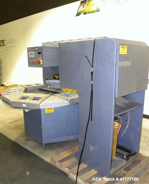 Used- Starview Packaging Machinery Rotary Blister Sealer,  Model PHS6-14X18