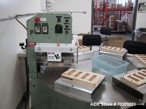 "Used-Used: Visual Pak SDS6C blister sealer. Semi automatic 14""x18"" blister sealer. Manufactured in 1994, excellent condition..."