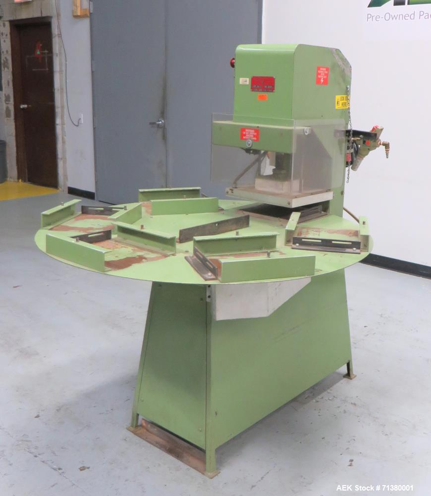 Used- Visual Thermoforming Model DS 6 Rotary Blister Sealer