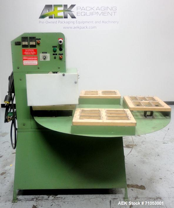 Used- Visual Pack Model SDS4 Visual Four Station Rotary Blister Sealer