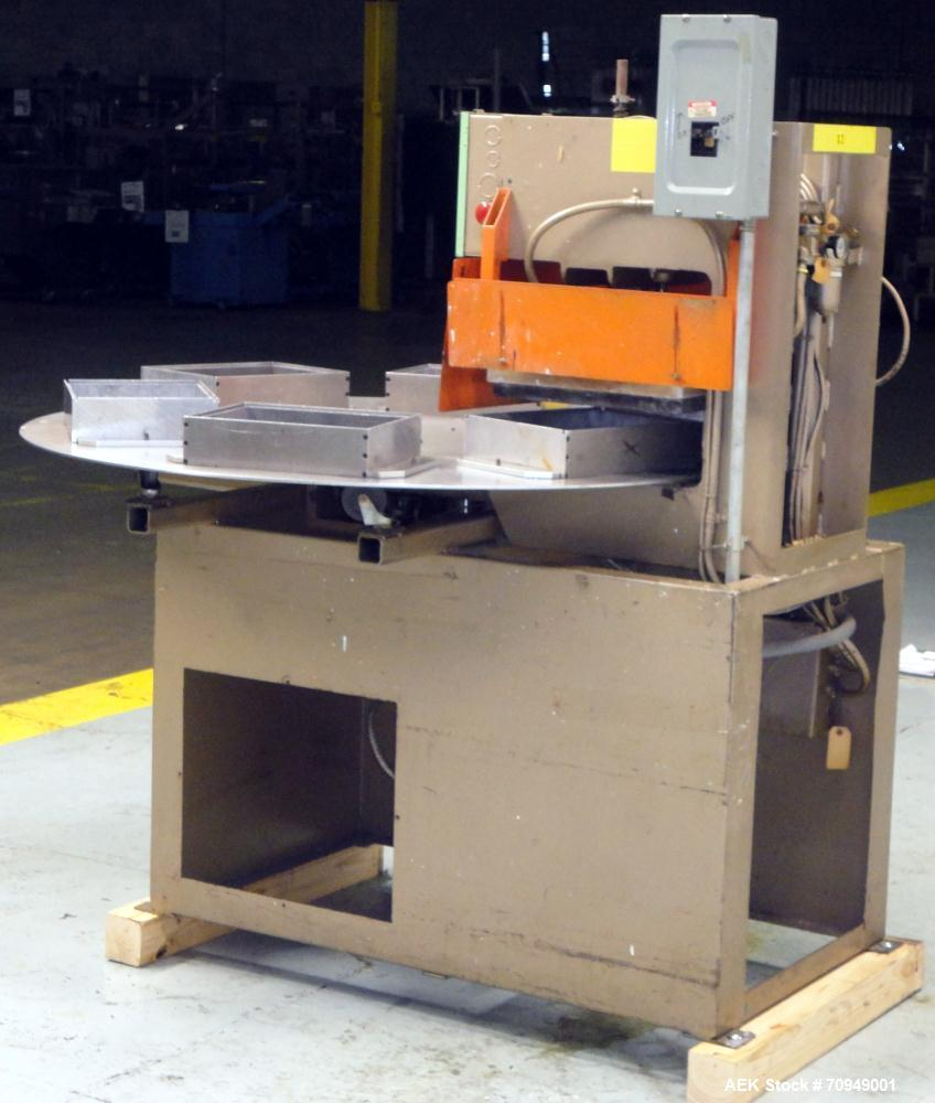 Used- Zed Model 15RS Six Station Rotary Blister Heat Sealer