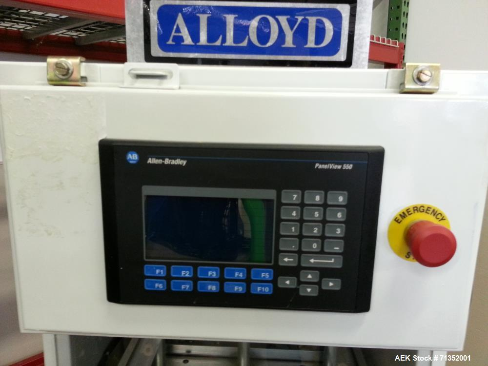 Used- Alloyd Model 2SM1216 Heat Sealer