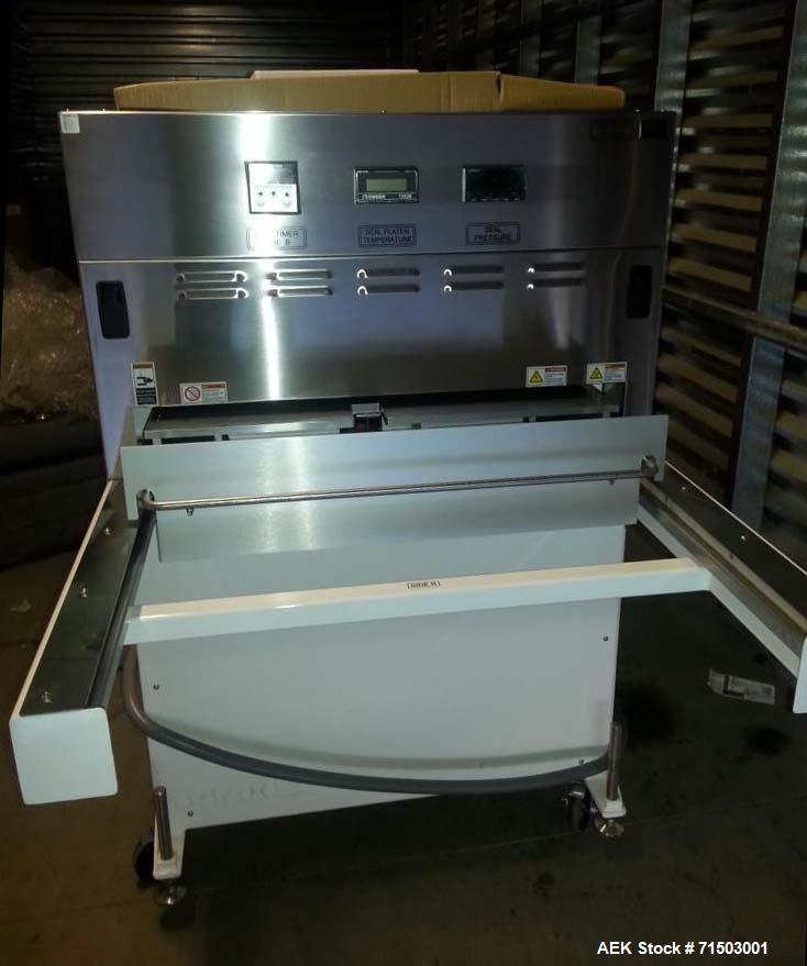 "Used- Belco Packaging Systems Medical Tray Sealer, Model BM EL 3025. Two station, shuttle style, 30"" x 25"" seal platen. Up t..."