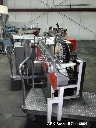 """Used- Standard Metals Bottle Cleaner, Model JI-600. Size range up to 3"""" diameter x 8"""" high. 3 Phase, 60 cycle, 230 volt. Las..."""