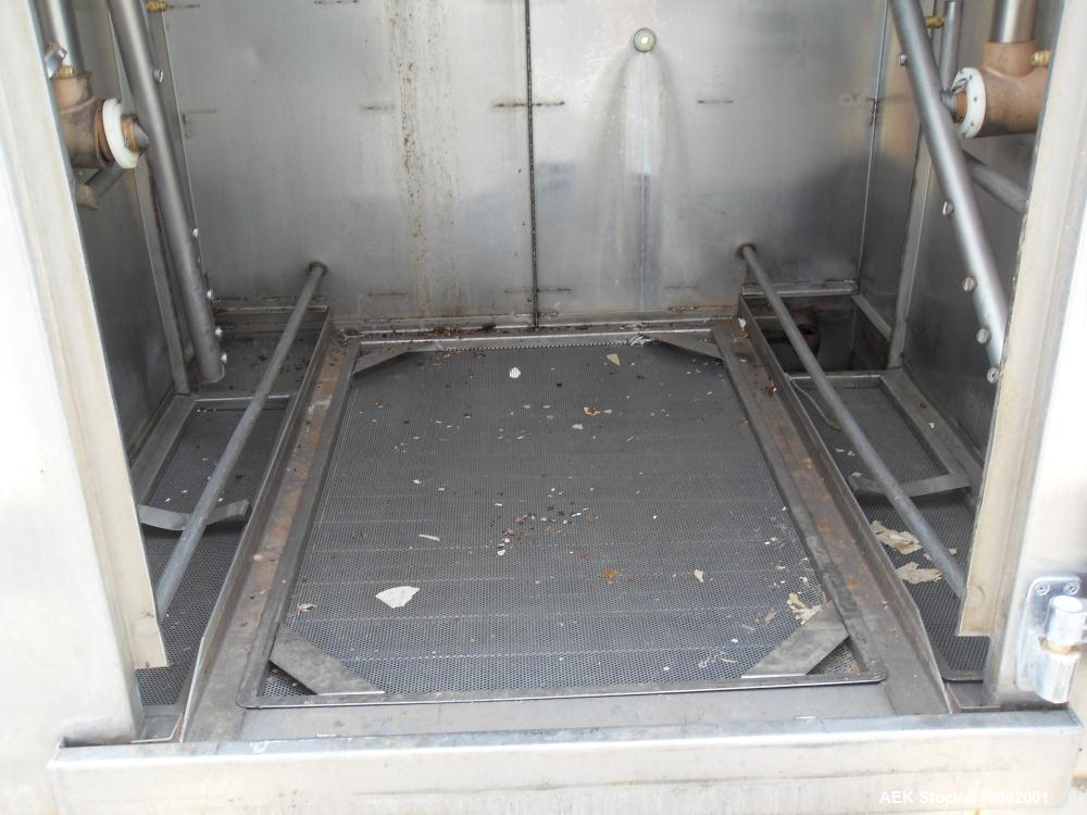 Used-LVO Manufacturing Fully Automatic High Volume Pan and Rack Washer, Model RW
