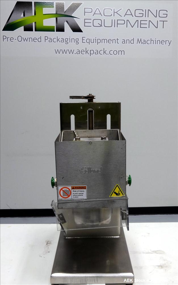 Used- Edlund Model 625 Heavy Duty Air Powered Crown Punch Can Opener