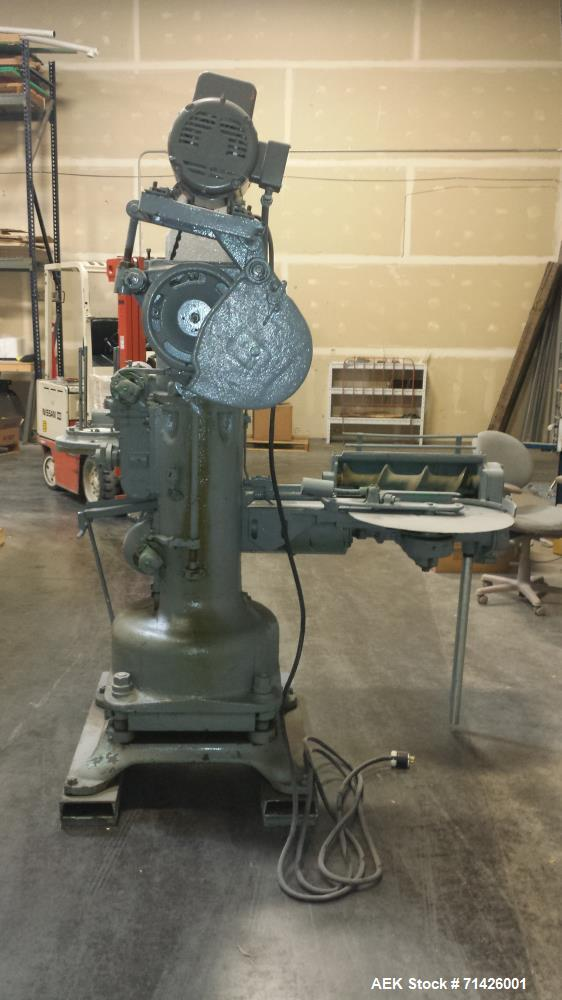 Used-Continental (Panama) Model 318 Can Seamer set on #10 Cans 603 Diameter