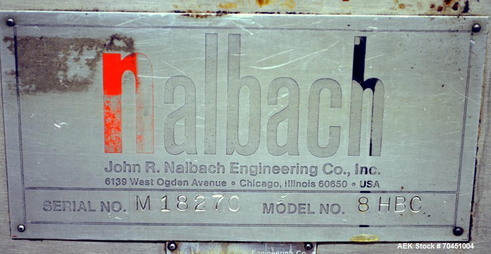 Used- Nalbach Model 8 HBC 8-Head Rotary Cap Crimper