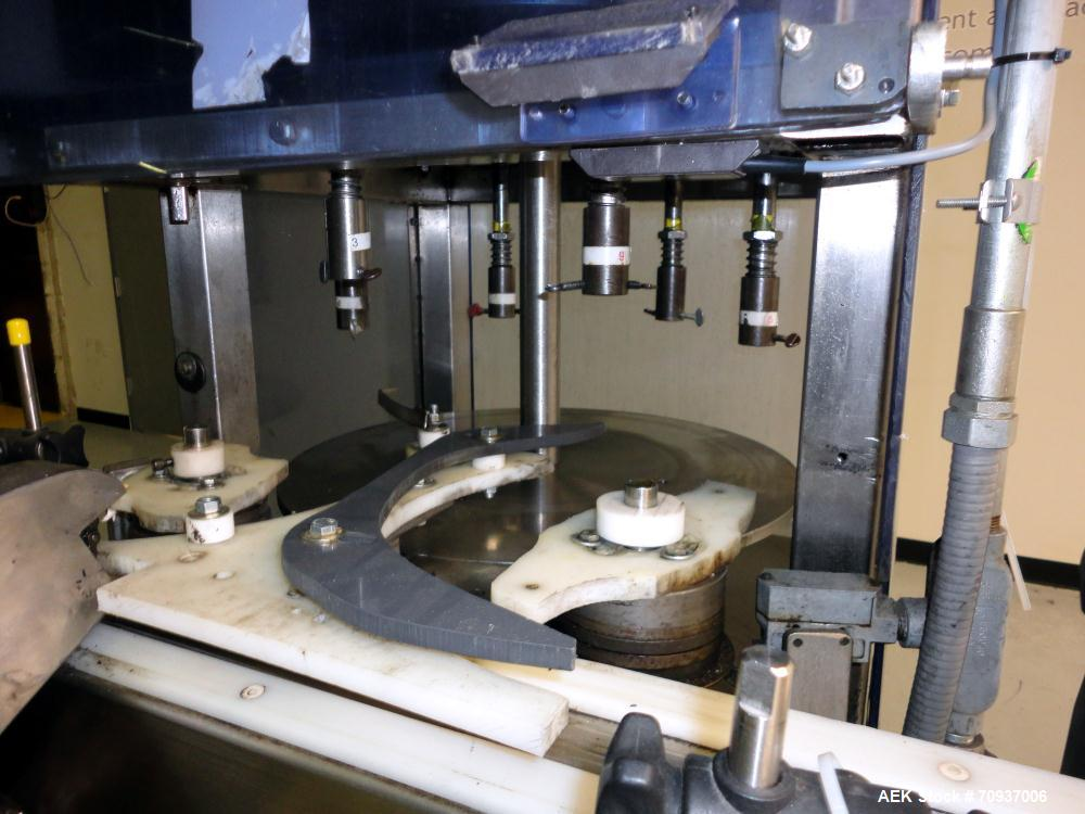 Used- 6 Station Rotary Collar Press