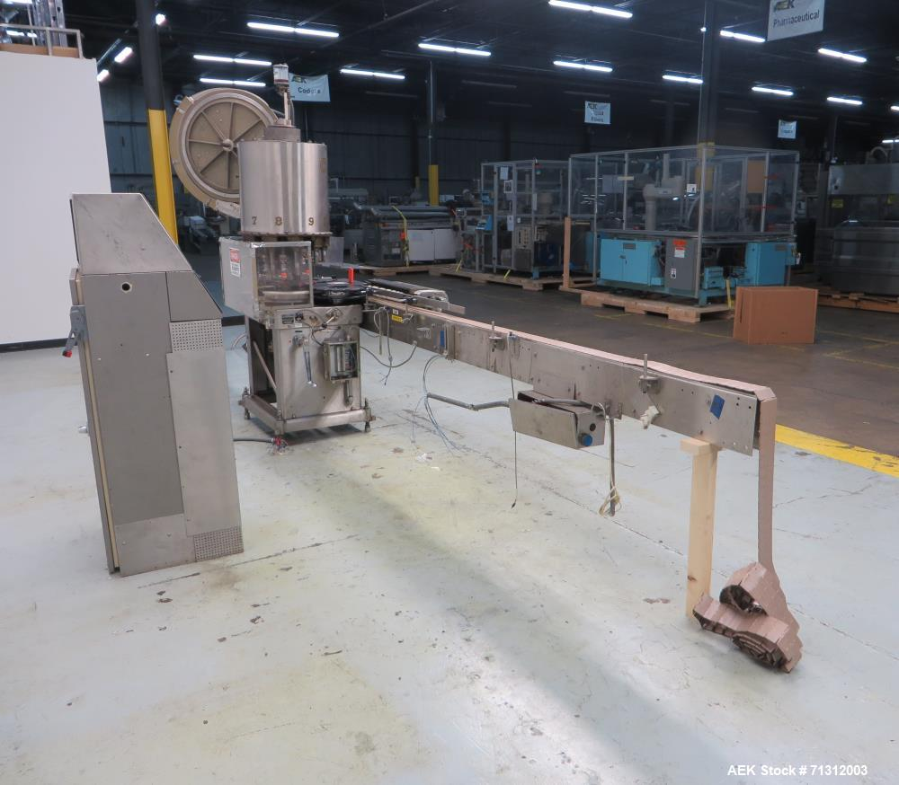 """Used- Consolidated Model TG-10-15 """"CaPeM"""" Rotary Chuck Capper"""