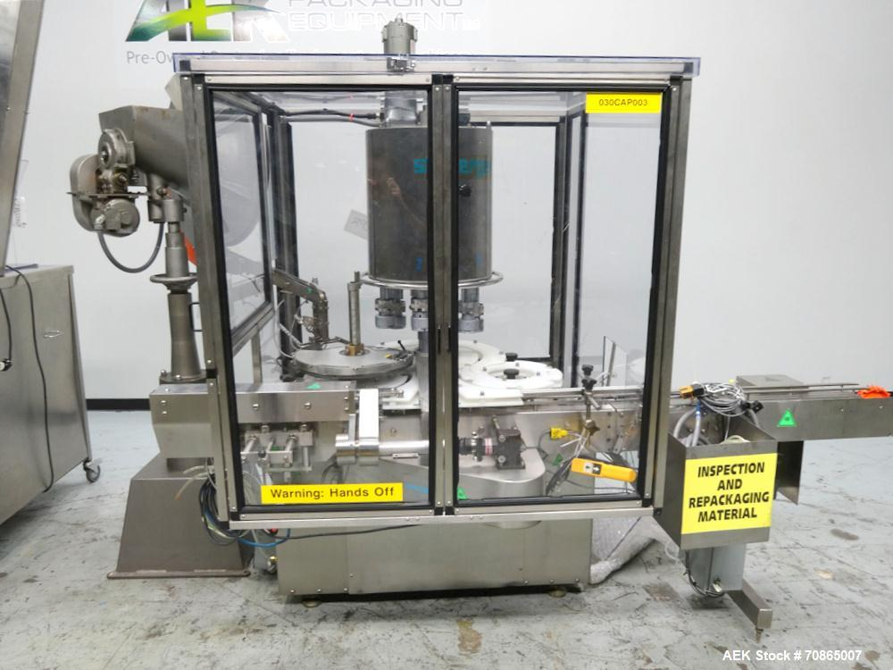 Used-Stolberger Model CP 15-6 Rotary Chuck Capper