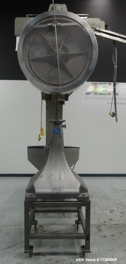 Used- Diversified Model 73-200 Rotary Vacuum Lug or CT Capper