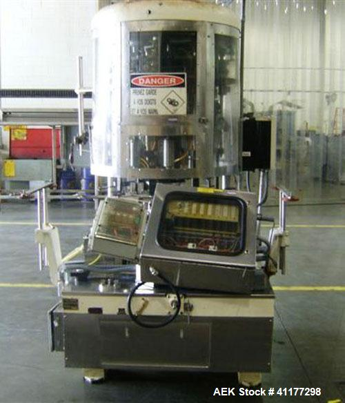 Used- Pneumatic Scale 8 Head Rotary Chuck Capper