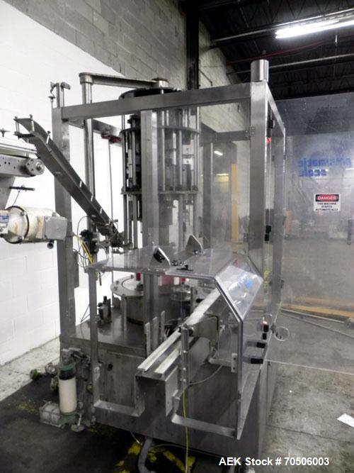 Used- Pneumatic Scale Model TC-450-10 Rotary Capper