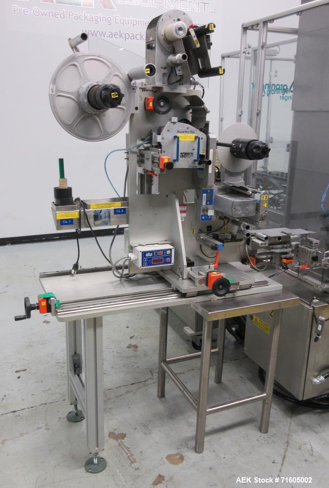 Used- Groninger KVG Single Head Cosmetic Chuck Capper.