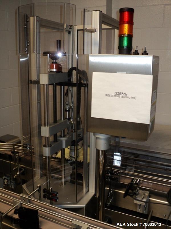 Used- Romaco Cap Retorquer, Model Bosspack CT6000, Serial #9506.
