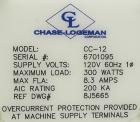 Used- Chase Logeman Model CC-12 Single Head Chuck Screw Capper