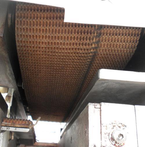 """Used- Holmatic Horizontal Overcapper/Lidder, stainless/aluminum construction, model PH-31. Last running 211 lids. 46"""" long s..."""