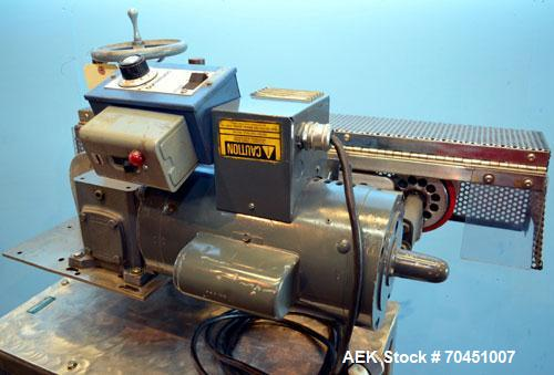 Used- Johnson Nash Top Belt Compression Overcap Applicator.