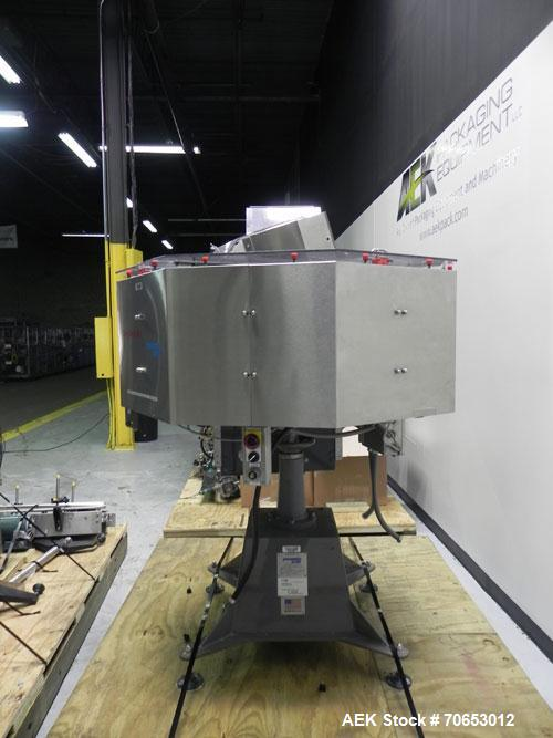 Used- Pneumatic Scale Model TC-45-10 Rotary Overcapper