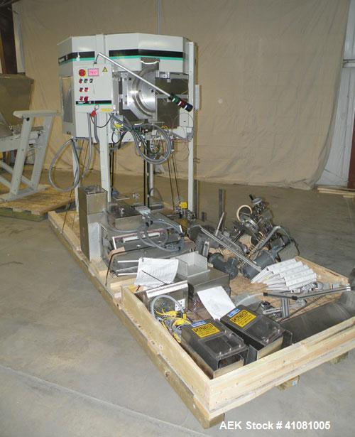 Used- Universal E-7586 Dose Cup Feeder and Applicator