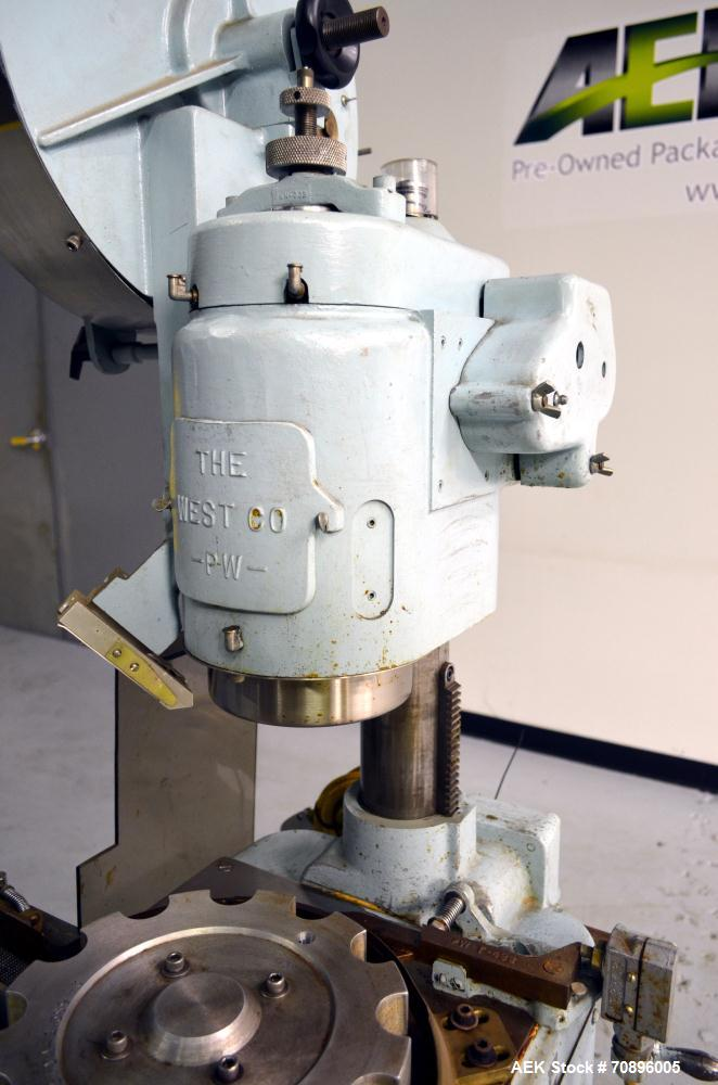 Used- West PW500F Rotary Flip Off Capper
