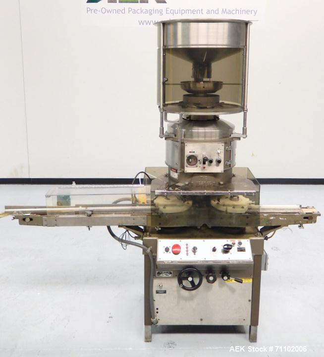 Used- West Model RW500F 12-Head Rotary Crimp Capper