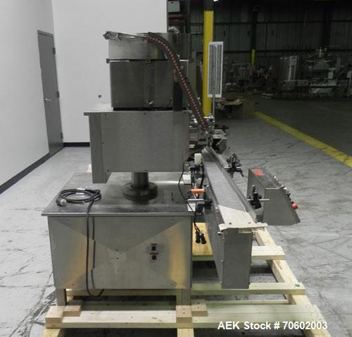 Used- M&O Perry Model SPS Vacuum Stoppering Machine